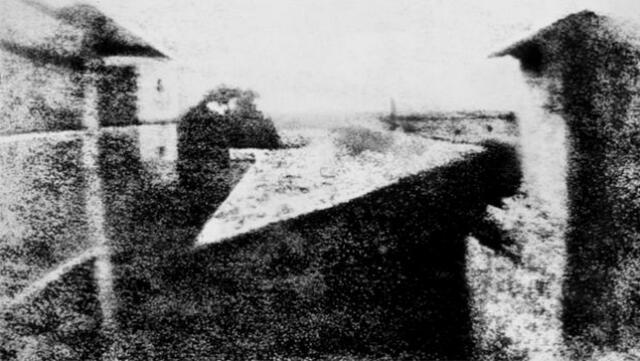 La primera fotografía de la historia