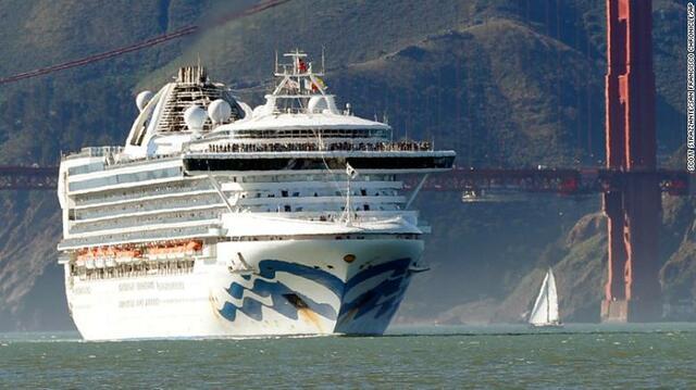 21 Passengers on California Cruise Ship Test Positive