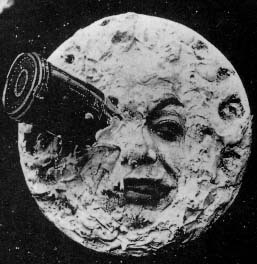 Viaje a la luna (primera pelicula con efectos especiales)