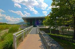 Corning Museo del vidrio. (New York). por Harrison & Abramovitz.