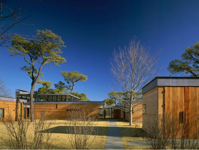 The Long Island Residence (New York) por Tod Williams y Billie Tsien.