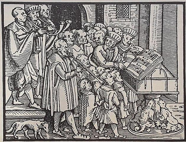 Reforma protestante refuerza la música en la educación.
