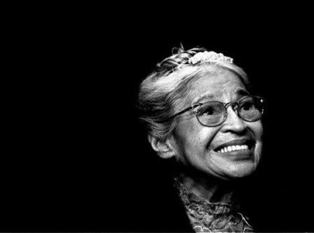 Rosa Parks refused to give up her seat on the bus.