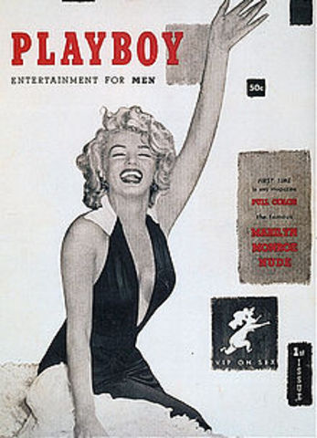 First Playboy Magazine Issued