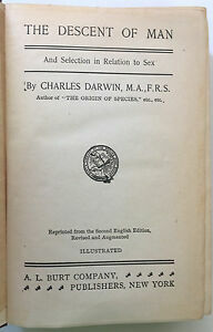 "Darwin publica ""The Descent of Man, and Selection in Relation to Sex"""
