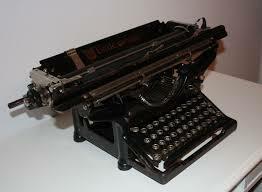 La màquina d'escriure
