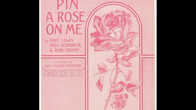 Mother, Mother, Mother Pin a Rose on Me