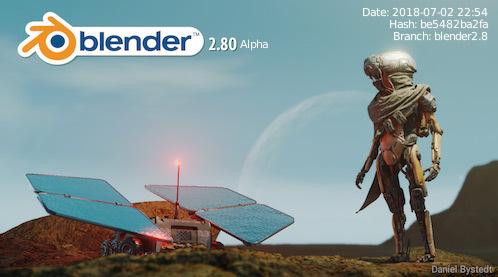 blender appears!