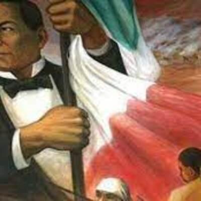 De la independencia a la consolidación de la república  timeline