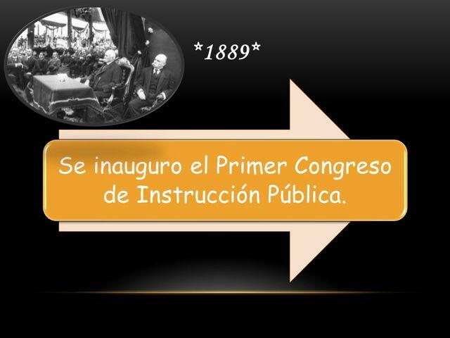 La primera resolución aprobada por el 1er. Congreso convocado por Baranda.