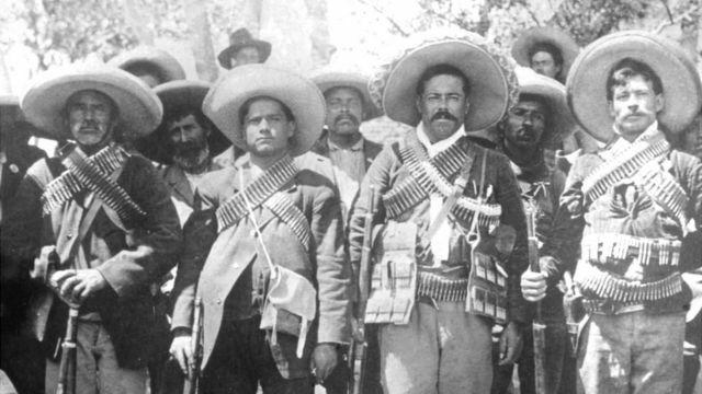 Estalló la Revolución Mexicana.