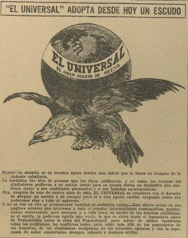 """Artículo del diario """"El Universal""""."""