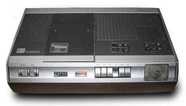 VCR (Video Cassette Recording)