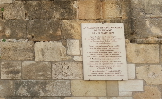 The Commune of Narbonne begins