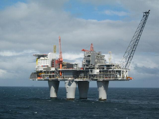 Norge finner olje