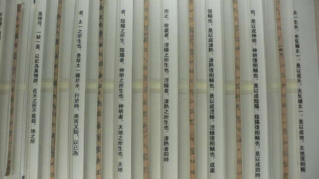 """""""Tao Te King"""" en Bambu de Guodian"""