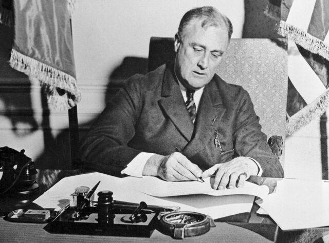 Medidas del New Deal de Franklin D. Roosevelt.