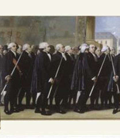 Opening of the Etat-general at Versailles.