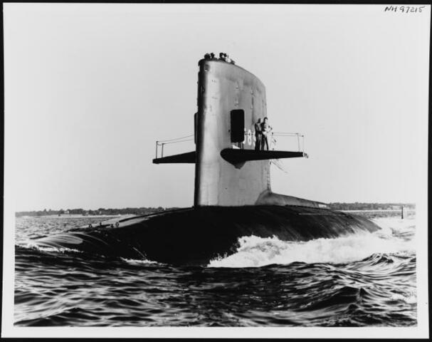 El naufragio del submarino nuclear