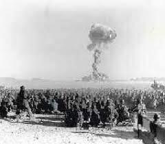 Bombas atómicas sobre España.