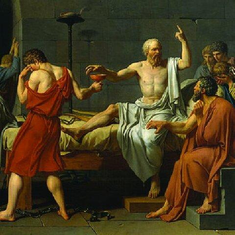 Juicio y muerte 399 aC
