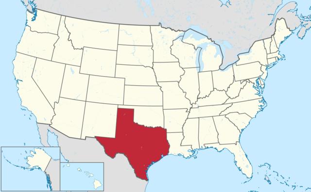 Texas se une a EUA.