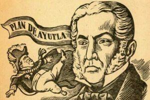 Exilio de Santa Anna y plan de Ayutla