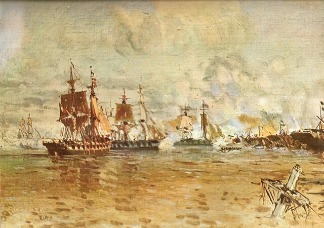 Última embarcación francesa