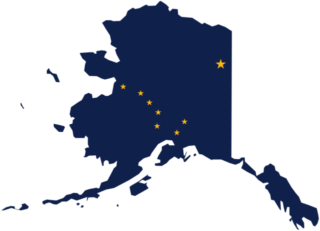 Alaska becomes part of the US