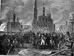 Battle of Borodino Napoleon Enters Moscow