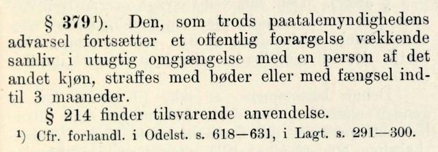 Samboerskap blir lovlig i Norge