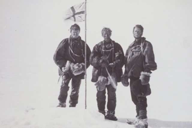 First Men to South Magnetic Pole
