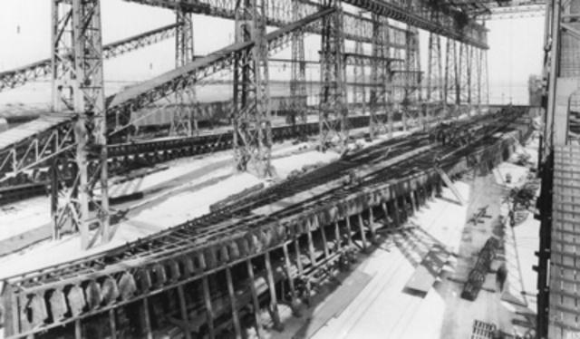 Titanic Construction Begins