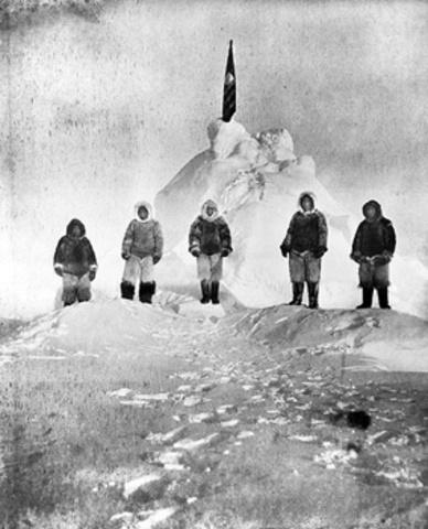 First Men to Reach North Pole