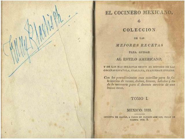 'El cocinero Mexicano'