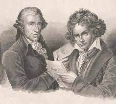 Haydn teaches Beethoven