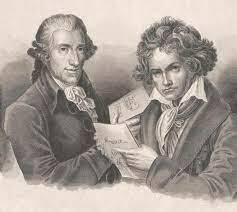 Haydn teaches Beethoven