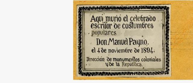 Muere Manuel Payno en San ángel.