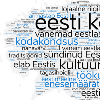 Eesti keele lugu timeline