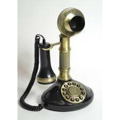 Història del telèfon fix timeline