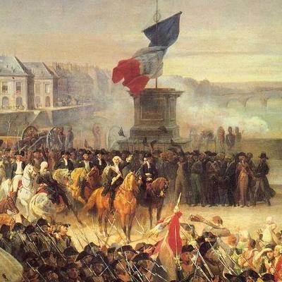 Denbora lerroa: Frantzia XIX. mendean timeline