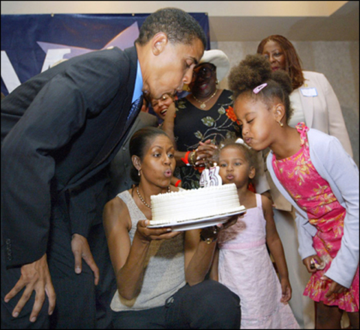 Obama's 100th day in Office (and my Birthday)