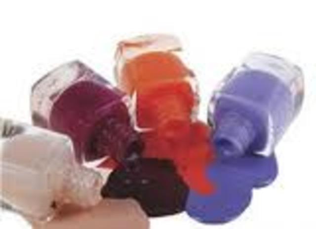 Colored Nail Polish