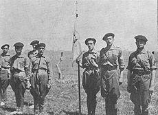 Decret militarització falangistes i requetès (Nacionals)
