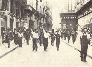Fracaso de la insurreción en Cataluña