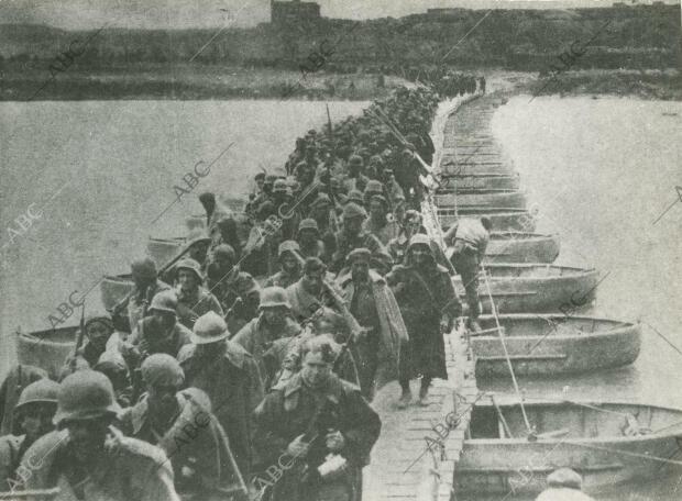 Las tropas de Yagüe