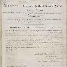 13th Amendment 1865