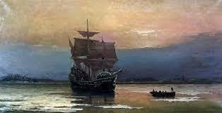 I Padri pellegrini sbarcano in America