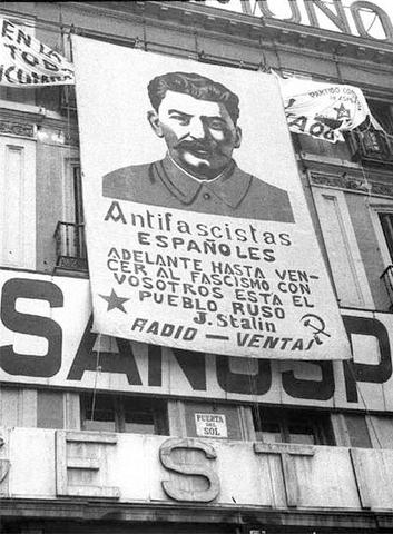 L'URSS a favor de la República