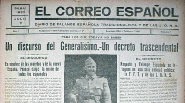 Decret d'unificació de Franco